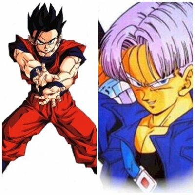 TRUNKS vs SANGOHAN
