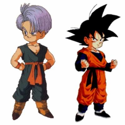 SANGOTEN vs TRUNKS.P