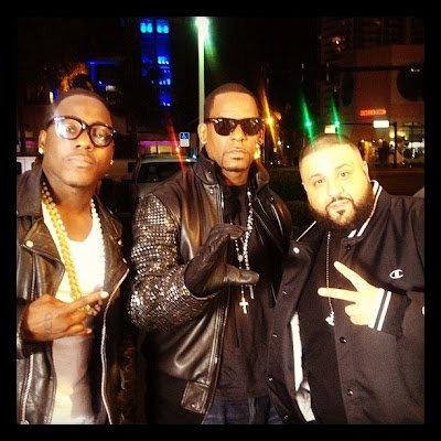 R.Kelly tourne un Clip en featuring avec Dj Khaled & Ace Hood pour … Black Panties ?!