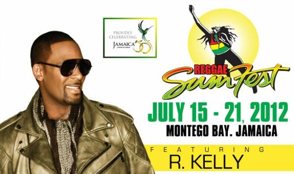 R.Kelly sera au Reggae Sumfest en Jamaïque !