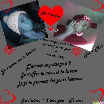 Moi et mon doudou d'amour