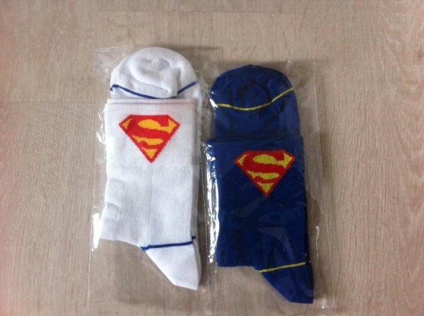 chaussette superman cyclisme