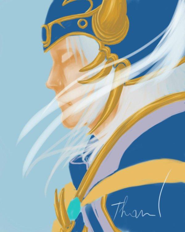 WIP - Warrior of Light - Dissidia - NOMURA Tetsuya/ YOSHITAKA Amano