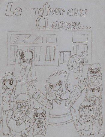 Une école sans queue ni tête... - Chapter 1