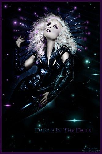 lady gaga dance in the dark
