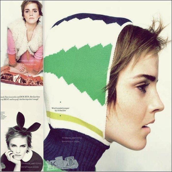 . PHOTOSHOOT _'Des nouvelles photos d'Emma pour le magazine Elle britannique viennent d'apparaître comme prévue__Article associé  .