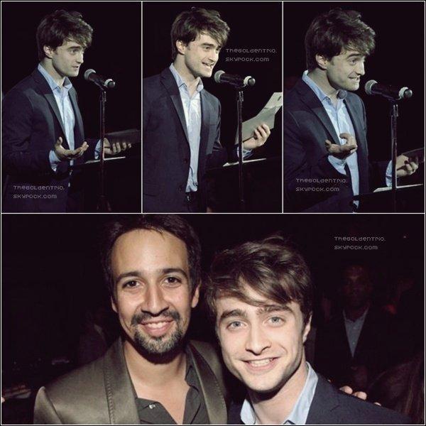 . FLASHBACK/EVENEMENT _'La semaine dernière , Daniel avait assité aux Annual Artios Awards .