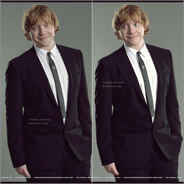. FLASHBACK/PHOTOSHOOT _'Rupert avait posé pour le Magazine BAFTA , cette année .
