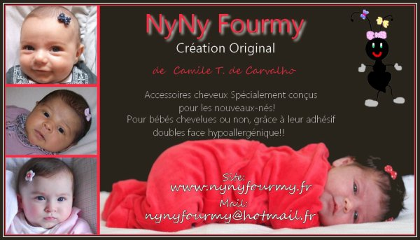 A découvrir!!! une super créatrice!!! Nyny Fourmy