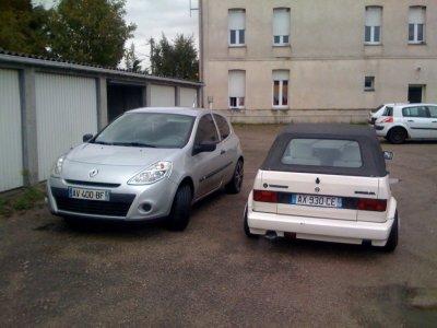 encor les deux voiture