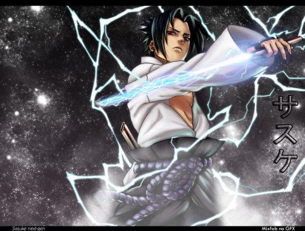 Sasuke uchiwa le genre de personne que jaimerai ressemblé