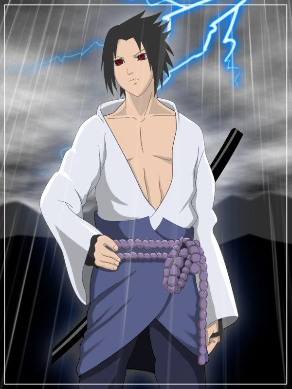 Sasuke Uchiwa : mon perso préféré