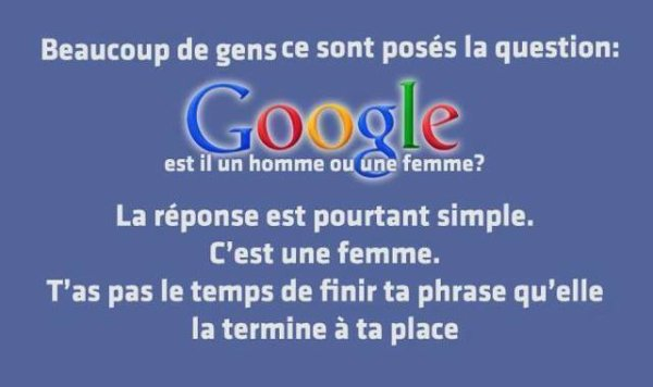 680 Madame Google !
