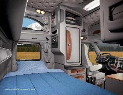 Belle interieur du t2000 la passion du camion que du for Camion americain interieur cabine