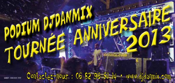 Tournée anniversaire 2013