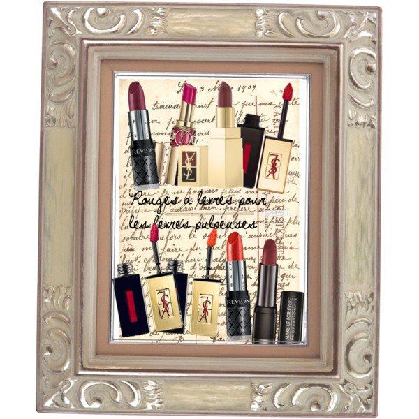 Maquillage: Presque tout sur les rouges à lèvres !