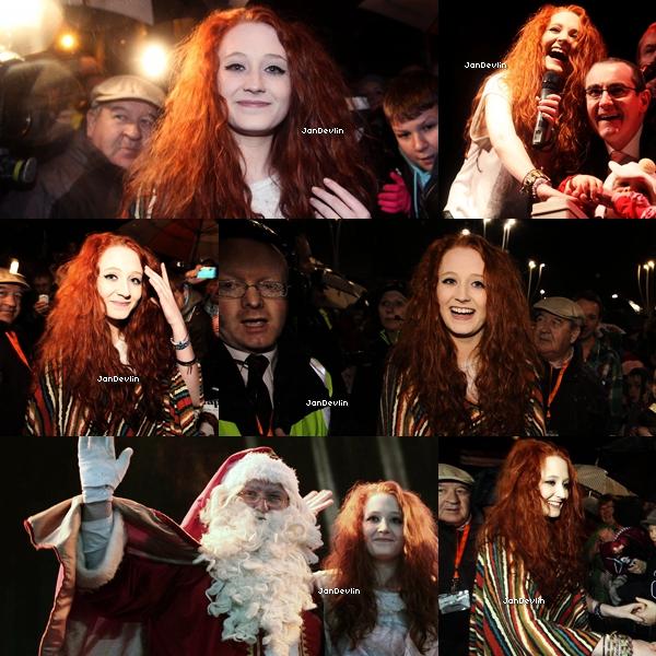 23/11/11 : Janet était de retour en Irlande , son pays natale. Plusieurs fans étaient présents.