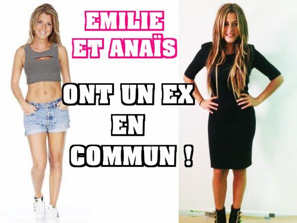 Secret Story : Emilie (SS9) et  Anaïs Camizuli ont un ex en commun !