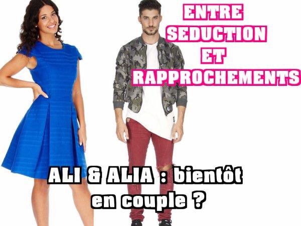 Secret Story 9 - Ali / Alia se rapprochent, bientôt en couple ?