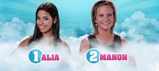 Secret Story 9 : Votez dés maintenant - NOMINATIONS Filles - ALIA / MANON NOMINÉES : Qui doit continuer l'aventure ? (VOTEZ)