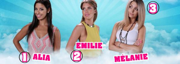 Secret Story 9 : Votez dés maintenant - NOMINATIONS Filles - ALIA / EMILIE / MÉLANIE NOMINÉES : Qui doit continuer l'aventure ? (VOTEZ)