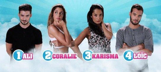 Secret Story 9 : Votez dés maintenant - NOMINATIONS Mixtes - ALI / CORALIE / KARISMA / LOÏC NOMINÉS : Qui doit poursuivre l'aventure ? (VOTEZ)