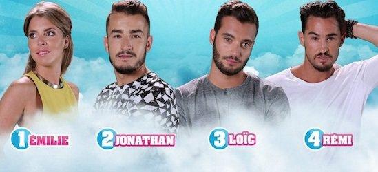 Secret Story 9 : Votez dés maintenant - FINALE - EMILIE / JONATHAN / LOÏC  / RÉMI NOMINÉS : Qui doit remporter Secret Story 9 ? (VOTEZ)