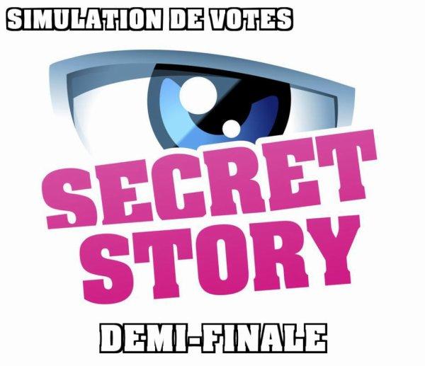Secret Story 10 - Objectif demi-finale : Faites vos choix (2ème SONDAGE)