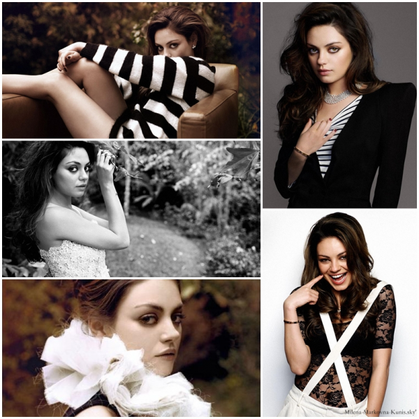 - Photoshoot de Mila datant de février dernier pour le magazine Angeleno (édition de mars). J'adhère, Mila est magnifique! ♥