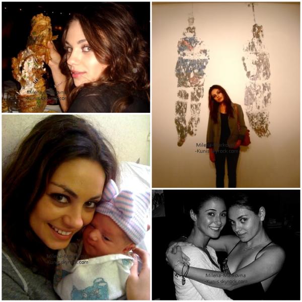 . Découvrez des photos personnelles de Mila,prises dans sa vie de tous les jours. .