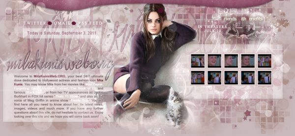 . Le blog accueille sa toute première affiliée: . milakunisweb .