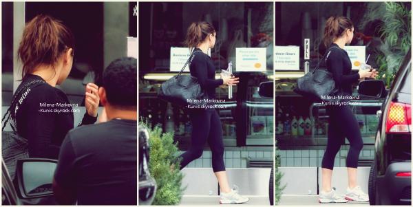 . Spotted : Mila,sortant de son cours de gym (LOS ANGELES) - 16septembre 2011. + Mila a été vue,encore et toujours, à l'aéroport de LAX (L.A) - 18septembre 2011...................