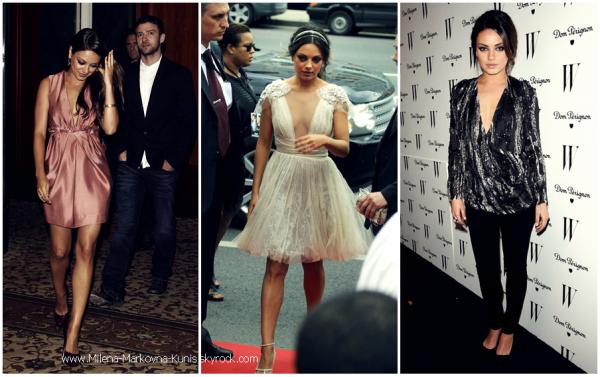 . DIVERS : Les plus belles tenues portées par Mila lors de cette année 2011..