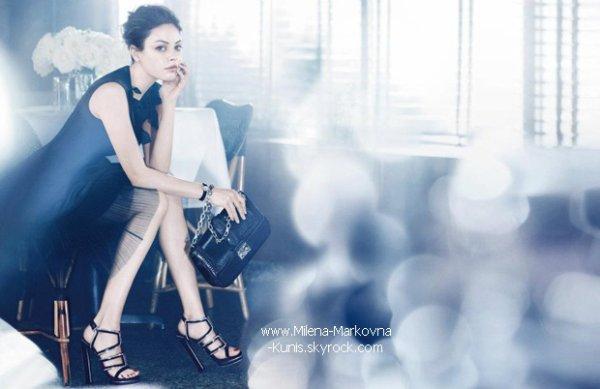 . SCOOP : Mila succède à Marion Cotillard et devient la nouvelle égérie des sacs à main Dior. .