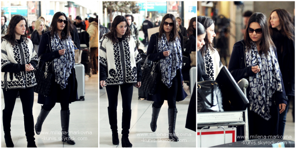 . Spotted : Mila in Paris. La belle est arrivée dans la capitale mardi dernier..comme une odeur de fashion week ............... dans l'air,hâte d'avoir des news! (PARIS) - 28février 2012 . . Spotted : Mila, toujours à Paris, était de sortie le soir même de son arrivée en France et a été  ............... aperçue à la sortie du restaurant Caviar Kaspia. (PARIS) - 28février 2012 .