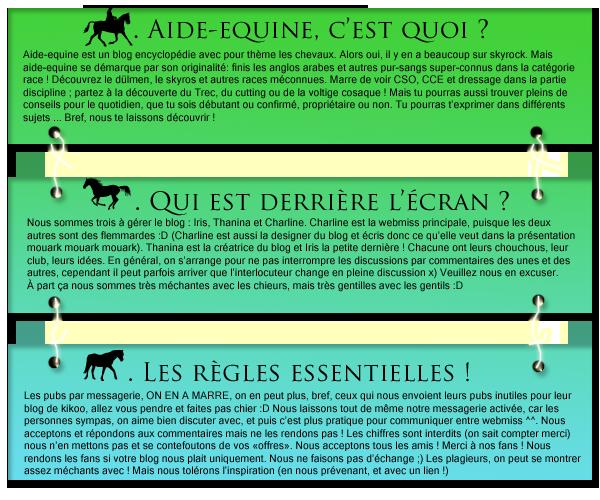 ღ  Aide Équine: pour toi et ton cheval ღ