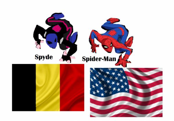 Spyde et Spider-man