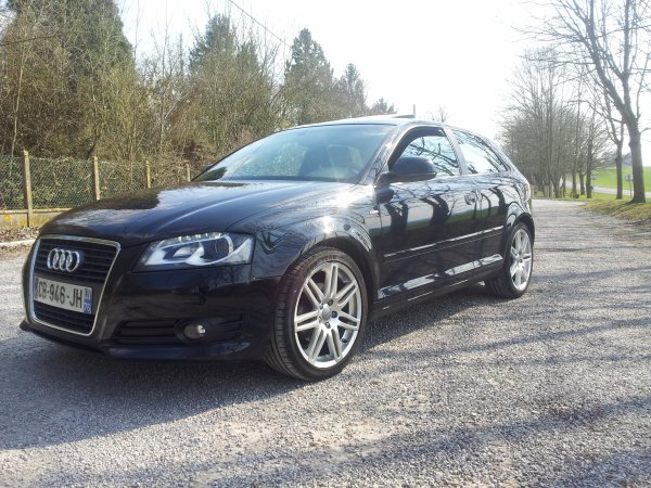 audi a3 ambition luxe pack s line mes passions. Black Bedroom Furniture Sets. Home Design Ideas