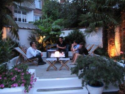 """Barbecue 2010 au Beauty cool gym ... un petit espace """"Lounge"""" ..."""