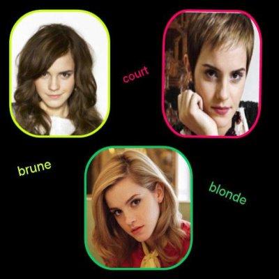Quelle coupe va le mieux a EMMA ?