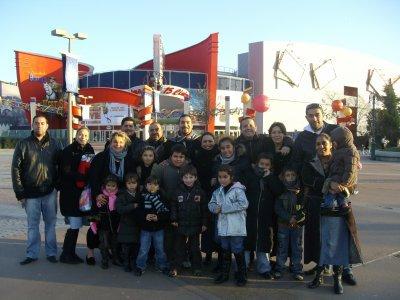MOI ET MA FAMILLE A WALDISNEY EN 2007