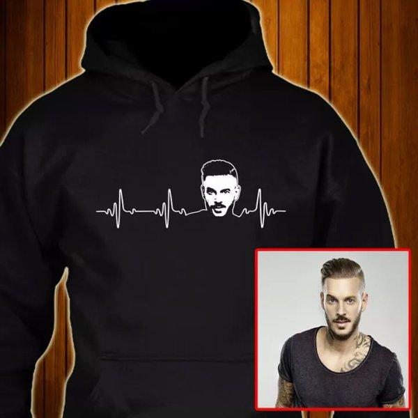 ÉDITION LIMITÉE M. Pokora battement de coeur T-shirt !!!