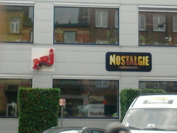 Facade studio de nrj belgique