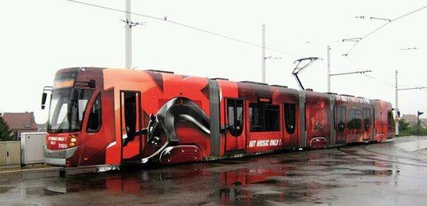 Le tram nrj