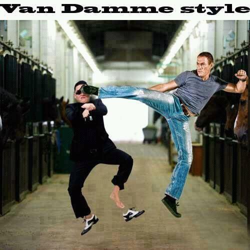 Van damme style