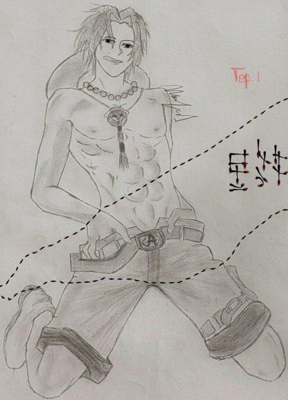 Portgas D. Ace ♥ Pose Yaoi