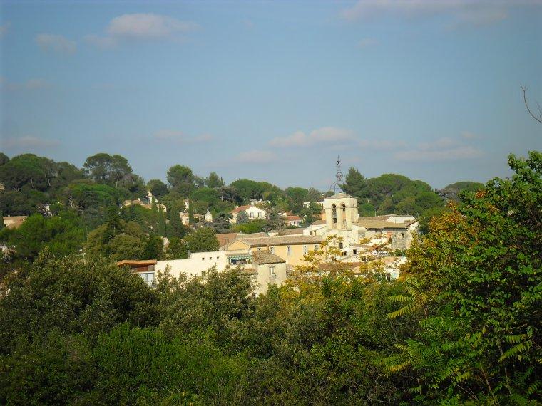 """Vue de mon """"village ancien"""" de CASTELNAU LE LEZ, où j'habite..."""