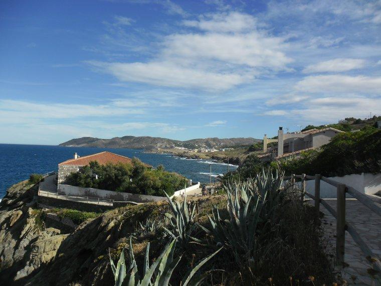 Village de Llança en ESPAGNE sur la Costa Brava en Catalogne