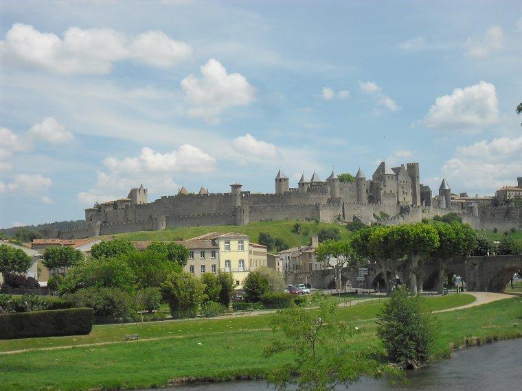 La Citée de Carcassonne Photos début juin 2014