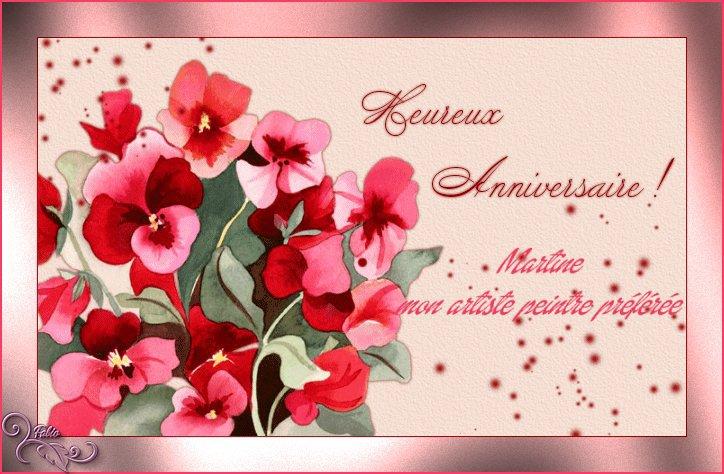 Cadeau de Maurice (Rafaljag) et une de ses créations, si fine, pour mon anniversaire le 10 juillet